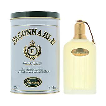 Faconnable Eau de Toilette 100ml Spray For Him
