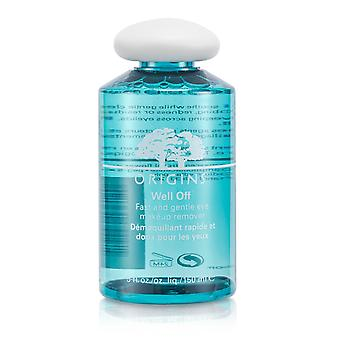 Well off fast & gentle eye makeup remover 133131 150ml/5oz