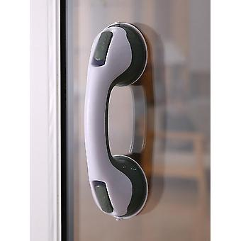 Bathroom Suction Cup Armrest, Hole Free - Shower Glass Door Handle