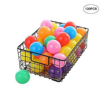 Plastic soft balls for children, pit-hole balls, multi-color soft balls for indoor and outdoor games