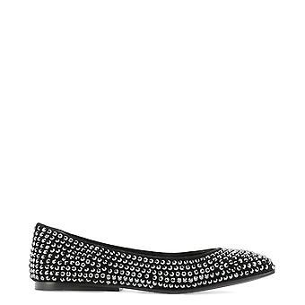 Eddy Daniele Es200204856 Women's Black Leather Flats