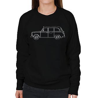 London Taxi Company TX4 Outline Women's Sweatshirt
