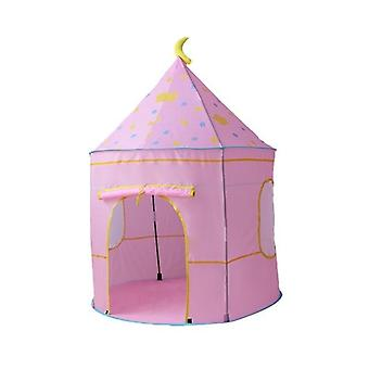 Kids Tent Indoor Outdoor Play House, Portable Princess Castle Baby Play Girl