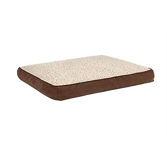 Dii destrozada Memory Foam Pet Bed Lg Chocolate