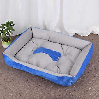 Bone Printed, Warm And Comfortable Bed For Dogs