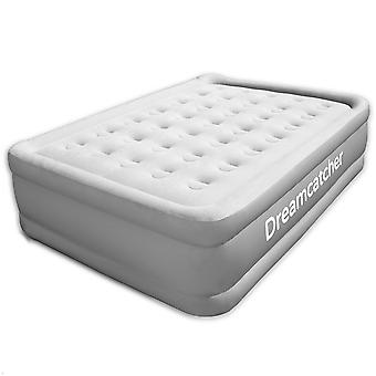 Dreamcatcher Double Air Bed Inflatable Mattress Built-in Electric Pump