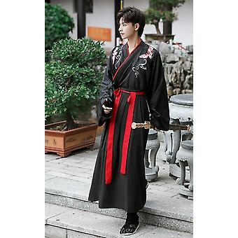 تانغ سلالة الأزياء القديمة Hanfu اللباس