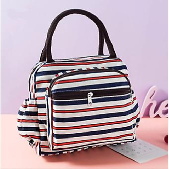 Portable Oxford Canvas Tote & Food Storage Bags Lunch Box, Printing Thermal Bag