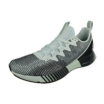 Reebok Fusion Flexweave Mens Running Shoes - White and Black