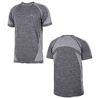 Puma Active Mężczyźni evoKnit Najlepszy Trening Fitness T-Shirt Top Grey 590633 03 A57E