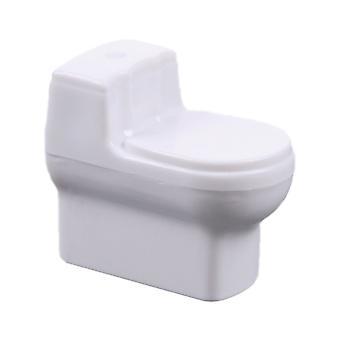 10pcs 1:50 Plastic Model Short Toilet for Model DIY Dollhouse