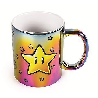 Super Mario Star Power Multichrome Mug