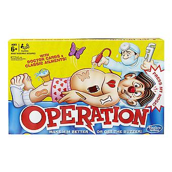 Hasbro gaming classic operation game without batteries