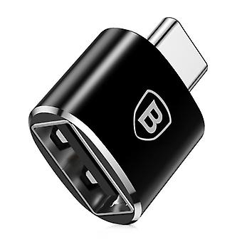 Baseus Type C to USB Adapter Converter - USB Female / USB-C Male - 2.4A Fast Charging and Data Transfer