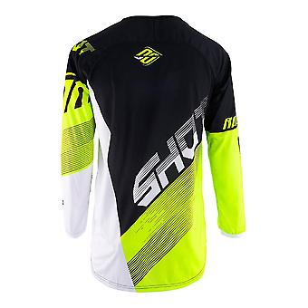 Shot Devo Ultimate Yellow Adults MX Jersey