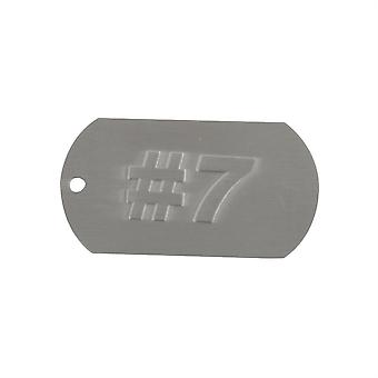 Dogtag Keyfob 7 - Includes Keychain Neckchain And Damper