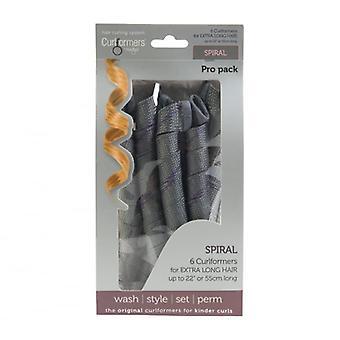 Curlformers # Curlformers Top Up Pack - Pro spiraalikiharat erittäin pitkä DISCON #