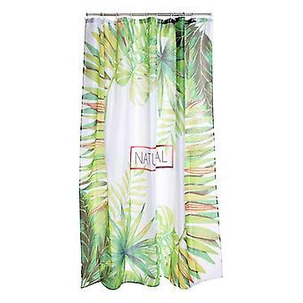 Duschdraperi Dekodonia Naturlig Polyester (180 x 200 cm)