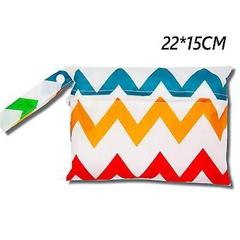 Waterproof Diaper Bag, Baby Outing Storage Stroller Hanging, Reusable, Wet,