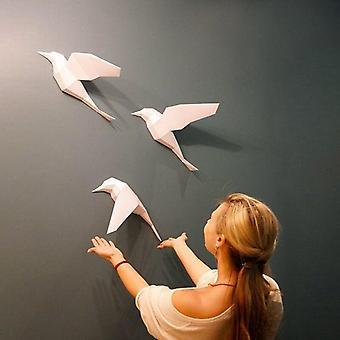 Paper Crafts White Dove 3d Geometric Animal Bird Model