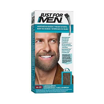 Just For Men Moustache & Beard-Medium Brown M35