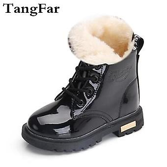 Kids Fashion Rubber Boot, Patent Leather Shoes