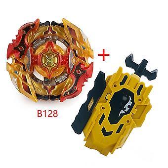Beyblades Burst ja vasen oikea Kaksiosainen Kaapelinheitin, Metalli Beyblade, Terä