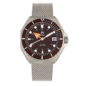 Shield Marius Quartz Brown Dial Men's Watch SLDSH103-2
