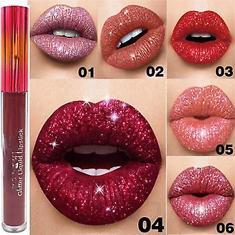 15 Colors Glitter Lips Make Up Liquid Lipstick Waterproof Long Lasting Shimmer Red Lip Pink Women Beauty Lipstick Lip Gloss