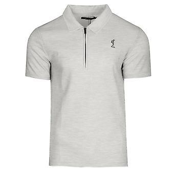Religion 11tmro12 Marbs Half-zip Polo T-shirt - Light Grey