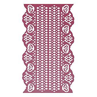 Ultimate Crafts Embossing Folder - Magnolia Lace