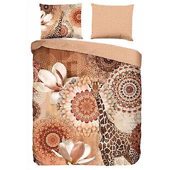 upholstery Rivkah 155 x 220 cm cotton/satin copper