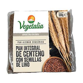 German Rye Bread and Organic Flax Seed 500 g