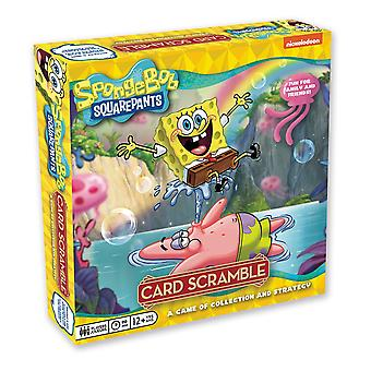 Spongebob squarepants card scramble board game
