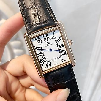 Women Luxury Watch, Rectangule Leather Lover Watches