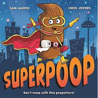 Superpoop-tekijä Sam Harper