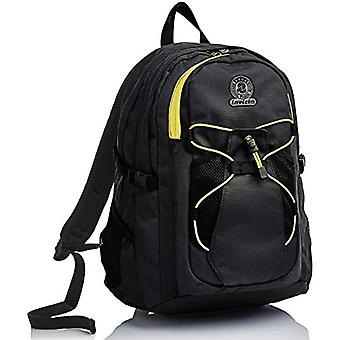 Active Invicta Backpack, Benin Eco-Material, Black, Sport, School and Leisure