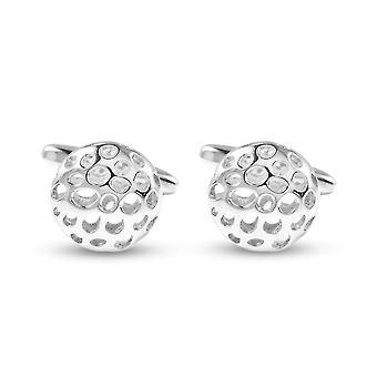 Rachel Galley Lattice Cufflink for Women in Sterling Silver