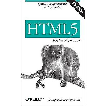 HTML5 Pocket Reference 5ed