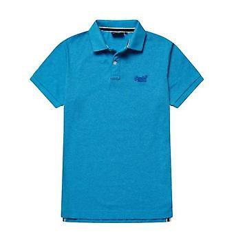 Superdry Classic Pique S/S Polo Blu