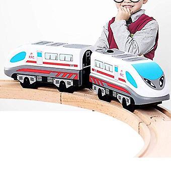 Elektrische trein magnetische track stoom-tijdperk Freight Classic's locomotief speelgoed