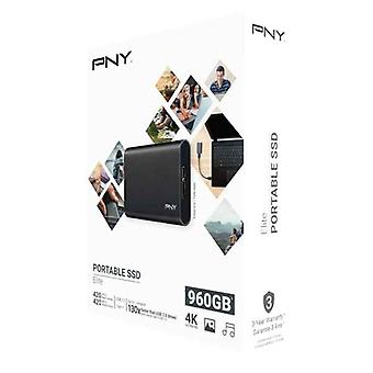 Extern hårddisk PNY PSD1CS1050-960-FFS Svart