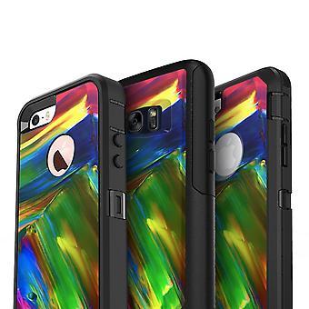 Verschwommene abstrakte Flow V29 - Skin Kit für die Iphone Otterbox Hüllen