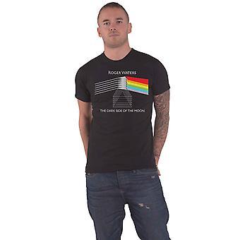 Vaaleanpunainen Floyd T-paita Dark Side of The Moon Roger Waters uusi virallinen Mens Black