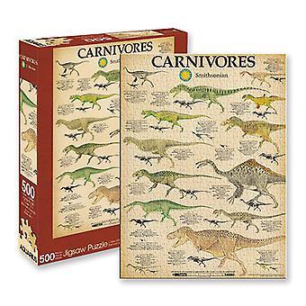 Acuario Smithsonian Dinosaurios Puzzle (500pcs)