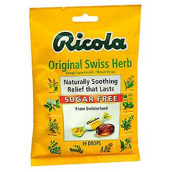 Ricola Ricola Cough Suppressant, 19 Drops