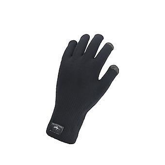 Sealskinz Mens Waterproof All Weather Ultra Grip Knitted Glove