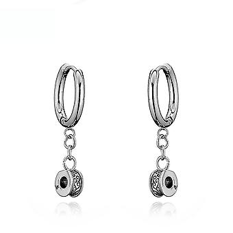 Earrings  Antiallergic Cross Gigid Golden Titanium Steel Stainless Steel Jewelry For Exhibition
