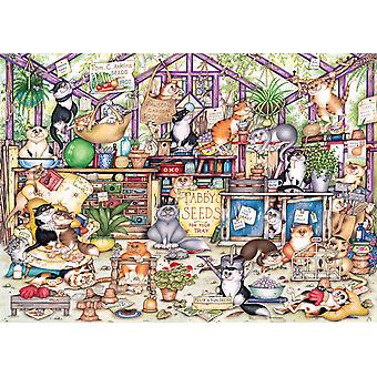 Gibsons Gerty's Garden Retreat  Jigsaw Puzzle (1000 Pieces)