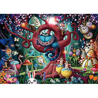 Ravensburger Almost Everyone is Mad (Alice in Wonderland) Jigsaw Puzzle (1000 Pieces)
